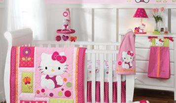اتاق خواب دخترانه طرح کیتی
