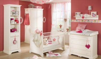 اتاق خواب دخترانه قرمز