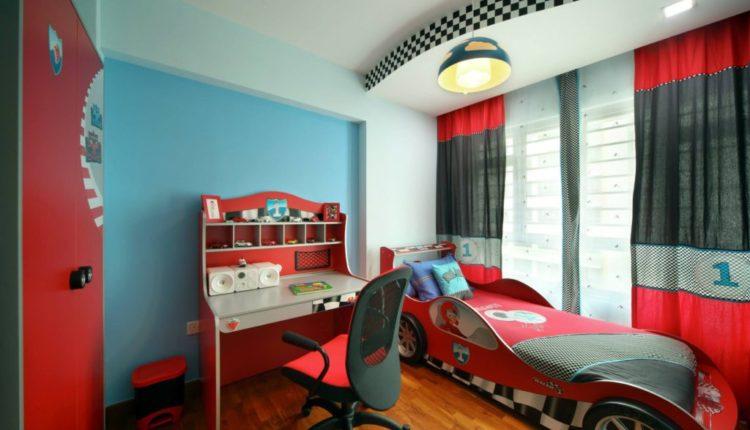 اتاق خواب کودک پسرانه