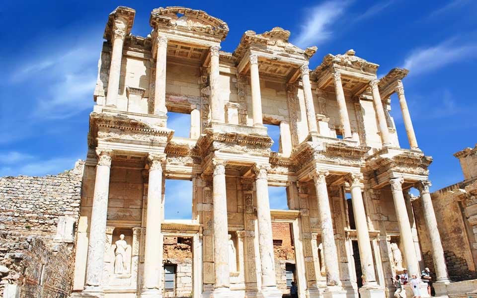افسوس و سلسوس در یونان