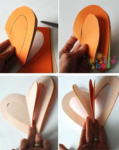 آموزش ساخت هدیه دست ساز روز مادر قلبی کاویاب