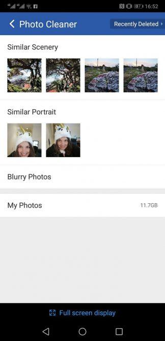 برنامه Clean Master برای حذف عکسهای تکراری